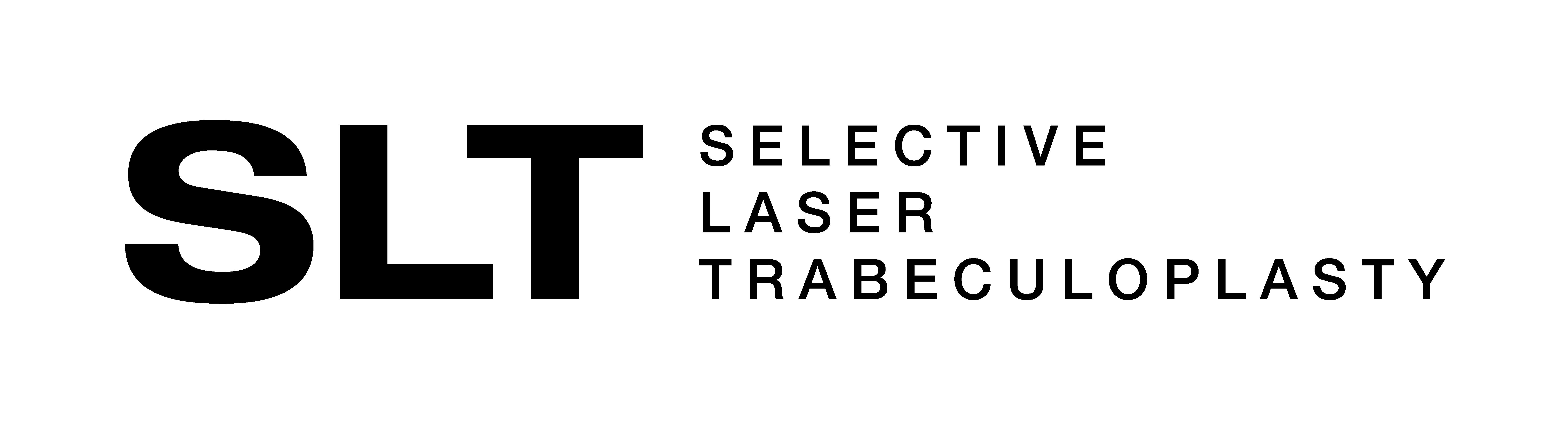 SLT treatment logo mono