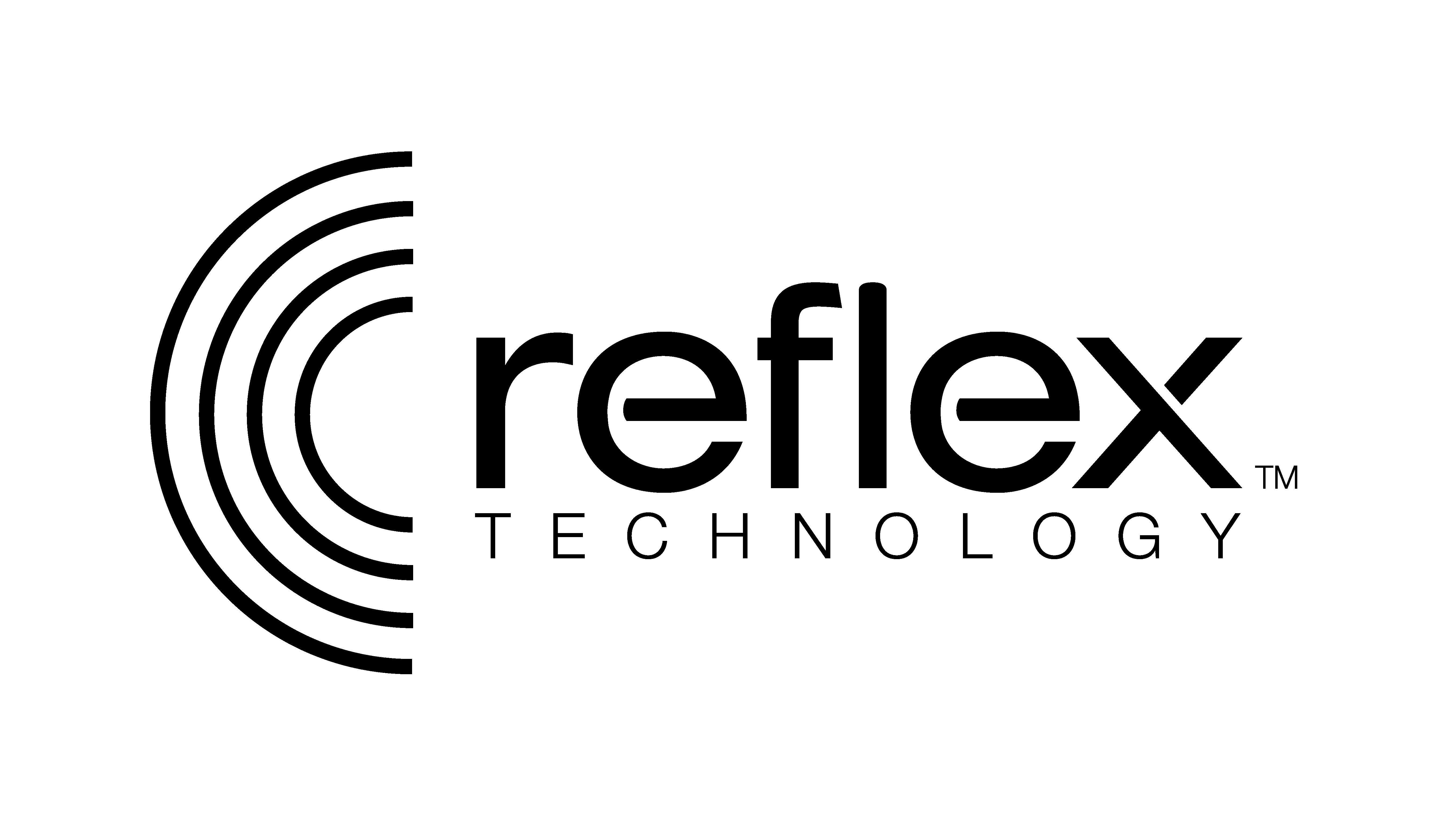 Reflex technology logo mono